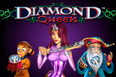 logo diamond queen igt caça niquel