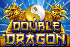 logo double dragon bally caça niquel