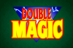 logo double magic microgaming caça niquel
