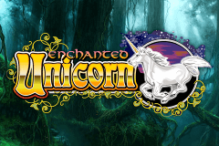logo enchanted unicorn igt caça niquel
