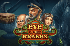 logo eye of the kraken playn go caça niquel