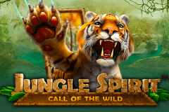 logo jungle spirit call of the wild netent caça niquel