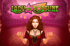 logo lady of fortune playn go caça niquel