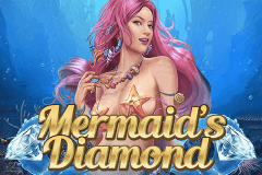 logo mermaids diamond playn go caça niquel