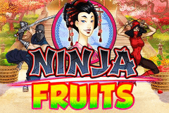 logo ninja fruits playn go caça niquel