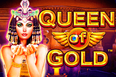 logo queen of gold pragmatic caça niquel