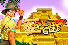 logo quest for gold novomatic caça niquel