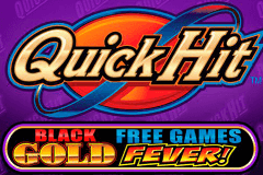 logo quick hit black gold bally caça niquel