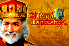 logo royal dynasty novomatic caça niquel