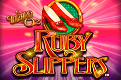 logo the wizard of oz ruby slippers wms caça niquel