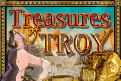 logo treasures of troy igt caça niquel
