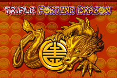 logo triple fortune dragon igt caça niquel