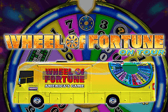 logo wheel of fortune on tour igt caça niquel