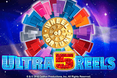 logo wheel of fortune ultra 5 reels igt caça niquel