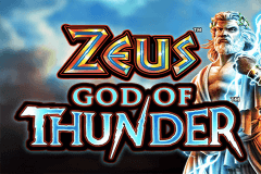 logo zeus god of thunder wms caça niquel
