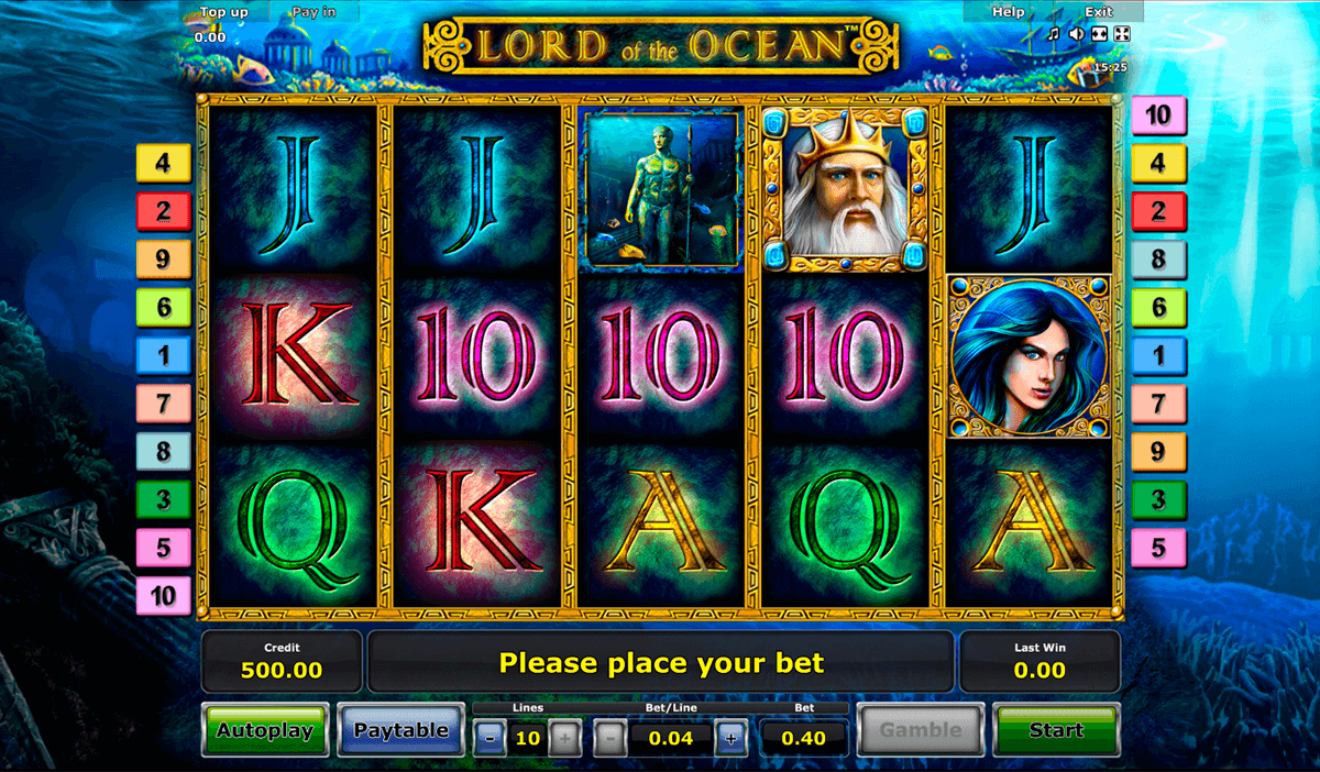 lord of the ocean novomatic jogo casino online