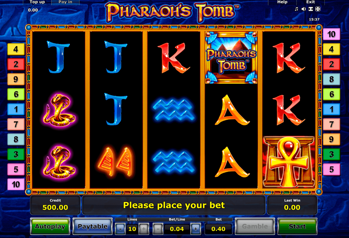 PharaohS Tomb Casino