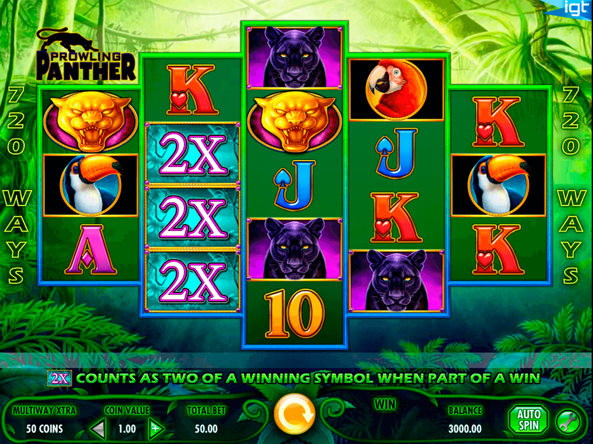 prowling panther igt jogo casino online
