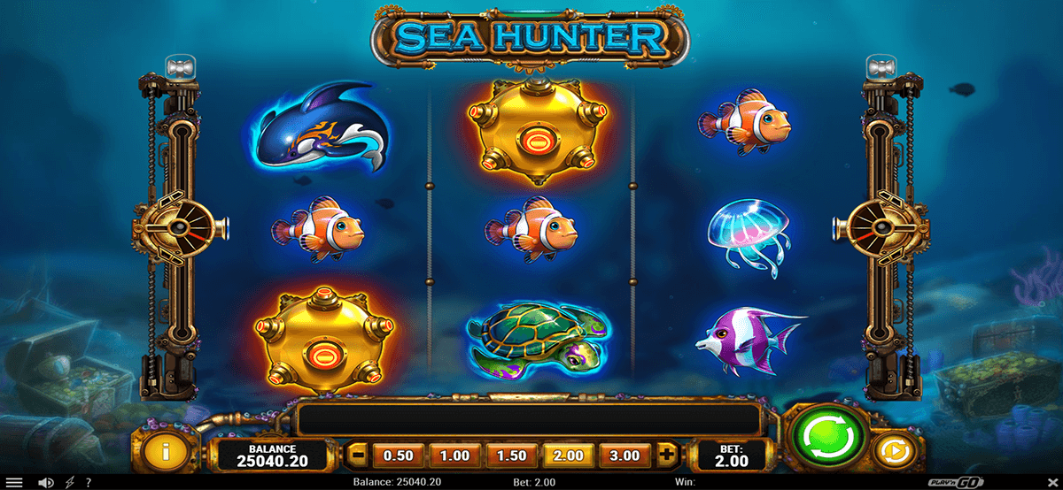 sea hunter playn go jogo casino online