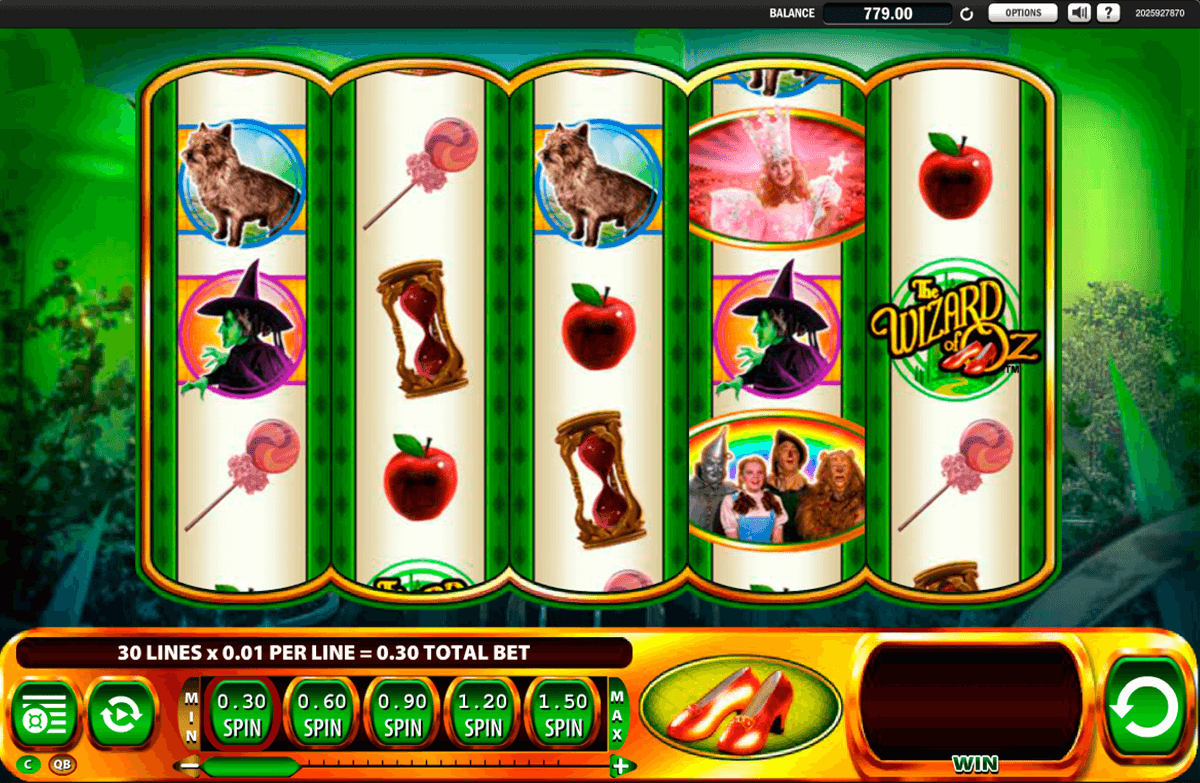 the wizard of oz ruby slippers wms jogo casino online